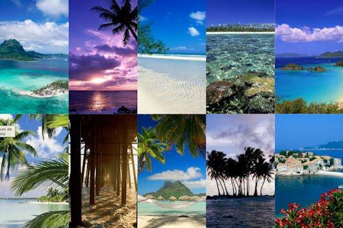 Playas paradisiacas XIX (10 postales del mar)