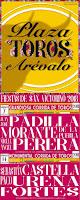 Claudia García vuelve diseñar los carteles de la feria taurina de Arévalo