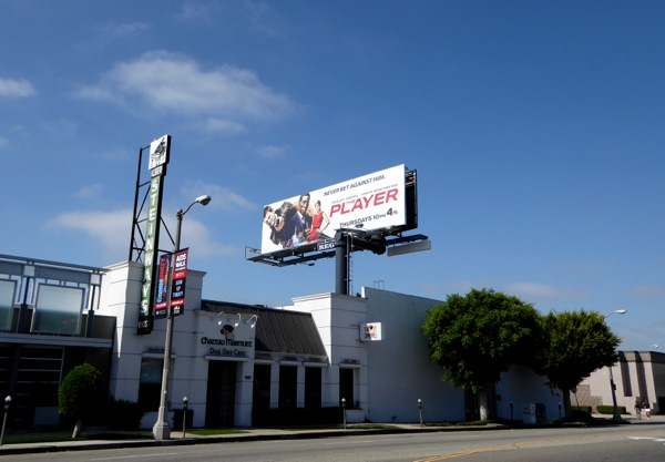 The Player series billboard