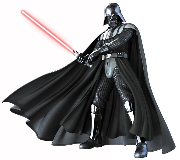 Simple Darth Vader Painting
