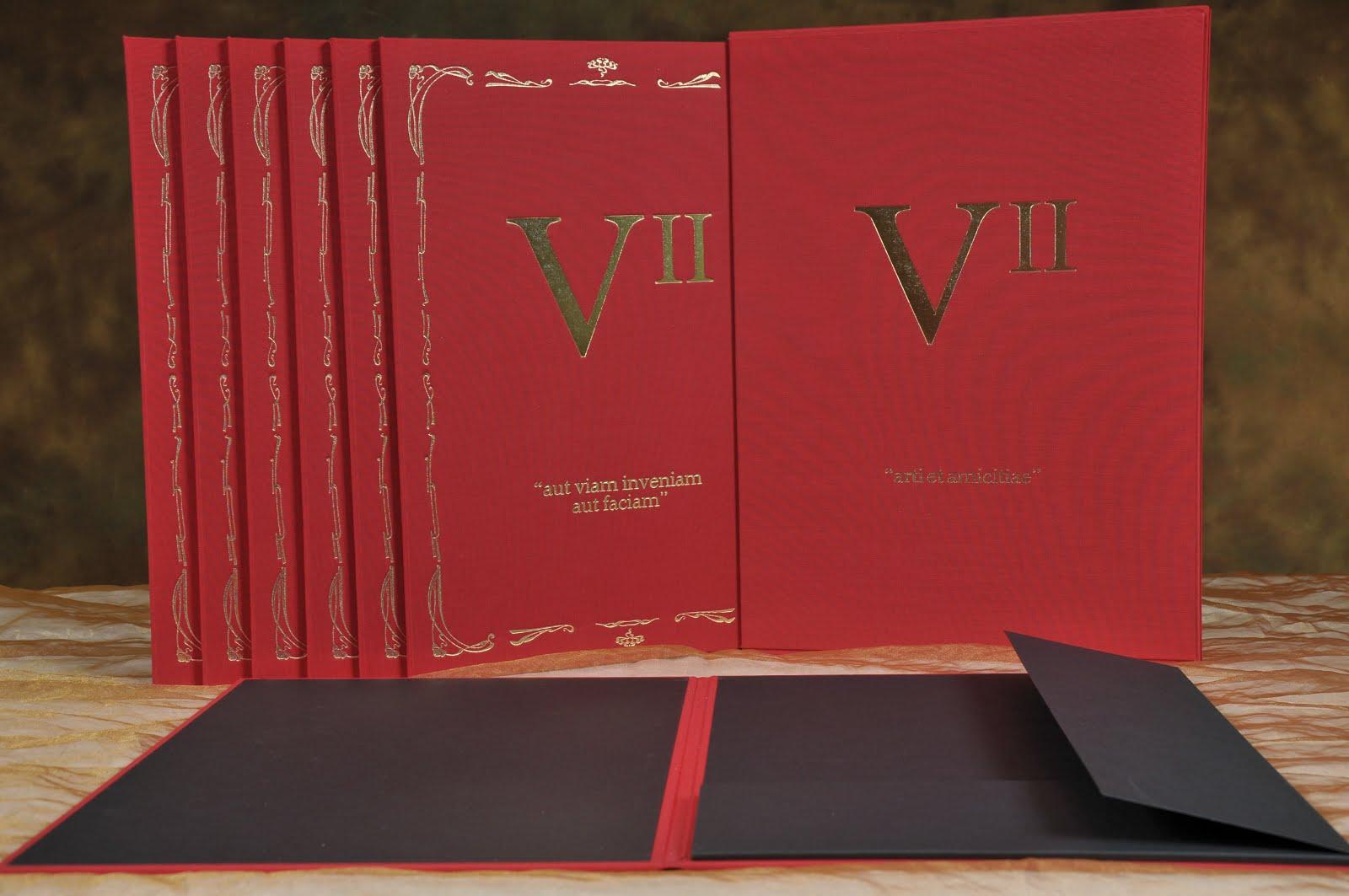 "De Luxe portfolio box ""VII"""