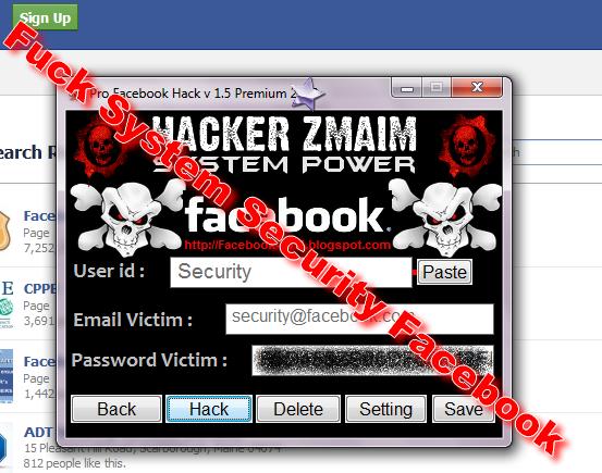 Pro Facebook Hack v 1.5 Premium