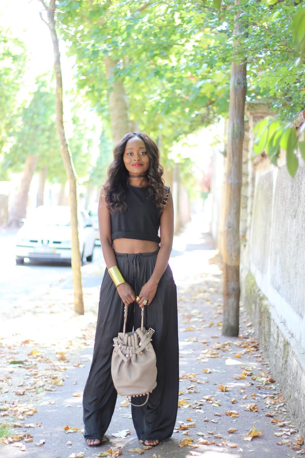 collier choker, blogueuse mode, modeuse
