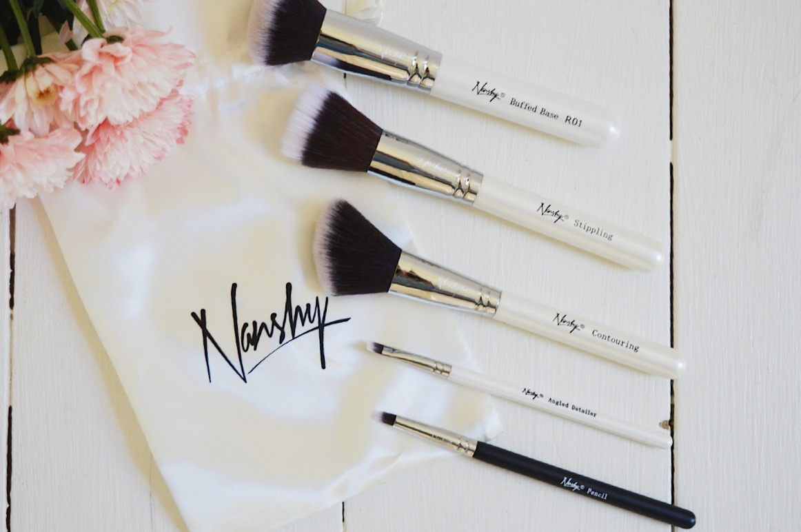 Nanshy makeup brushes, FashionFake, beauty bloggers, cruelty free makeup brushes