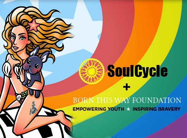 Lady Gaga's BTW Foundation SoulCycle Fundraiser