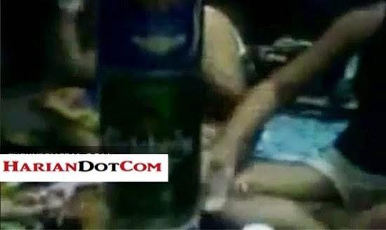 Video 7 Gadis Terengganu Berpesta Arak Sambil Buat Video 3 GP Tersebar