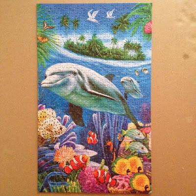 Dolphin Puzzle - Cheap Puzzles Australia
