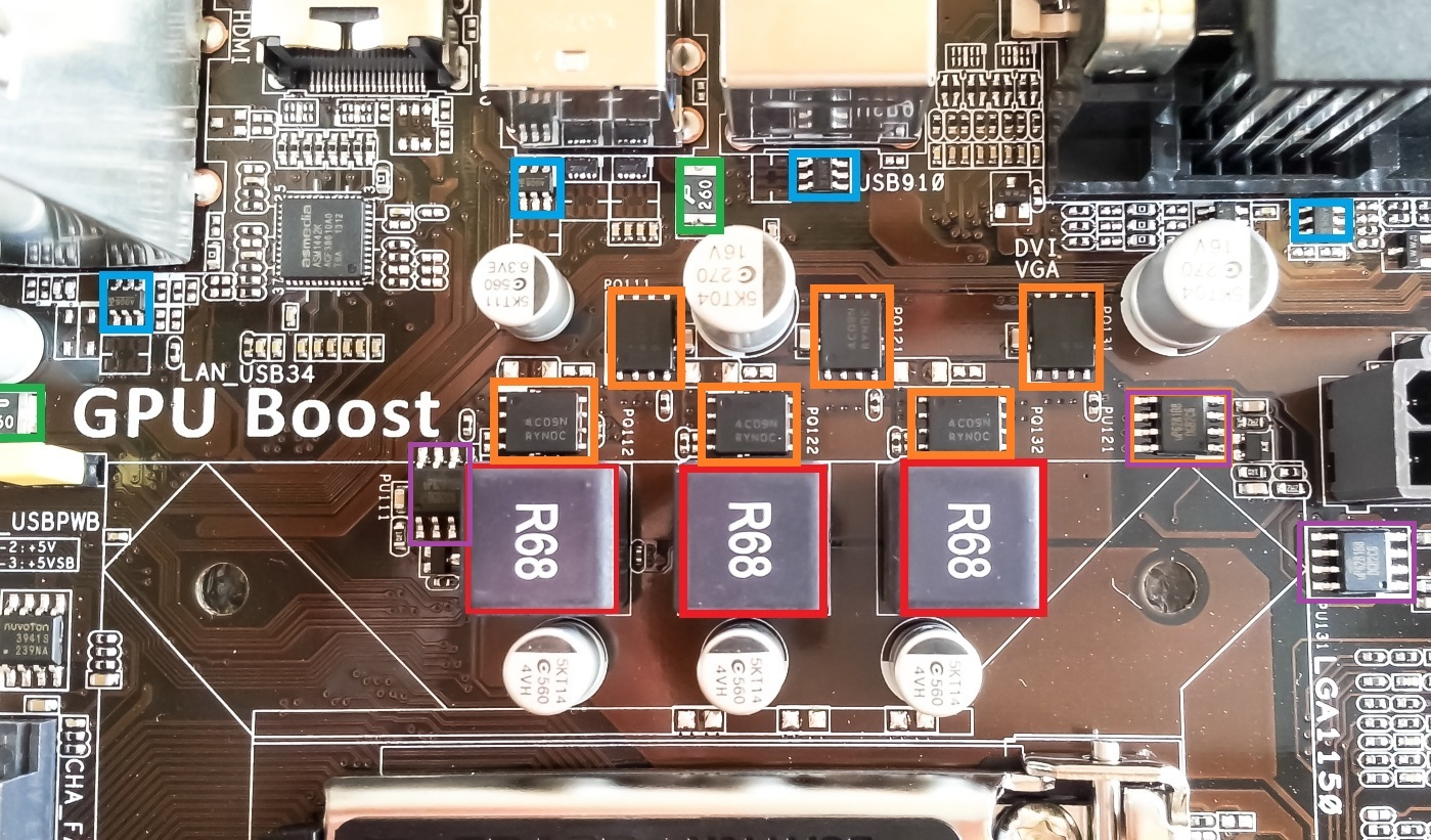 Nilivin Blog How To Build The Itsybitsy Usb Lamp Circuit Diagram 5000 Hrs Vrm Motherboard Drivers