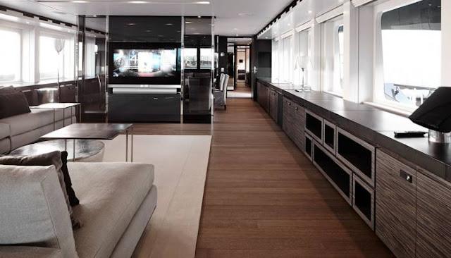 interior yate  de lujo Ventura Heesen