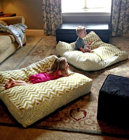 Ideas & Products: Giant Floor Pillows
