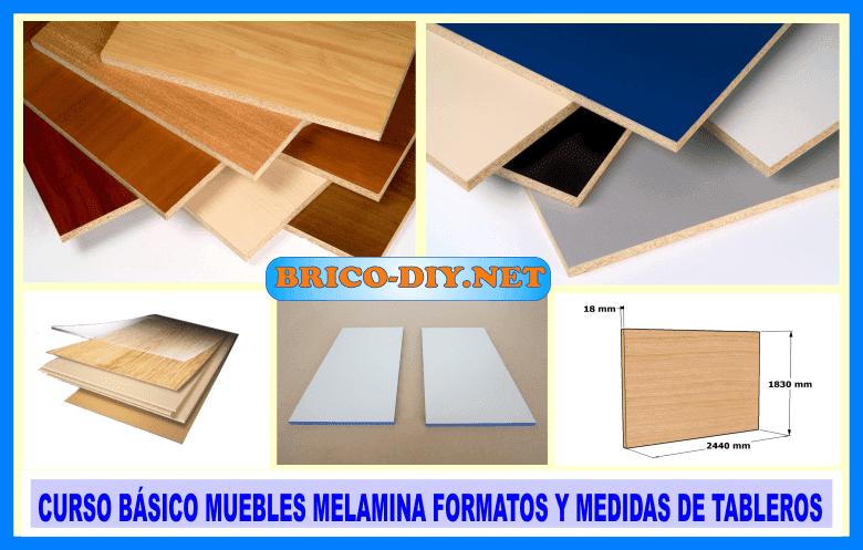 curso como hacer muebles de melamina tutoral medidas y formatos