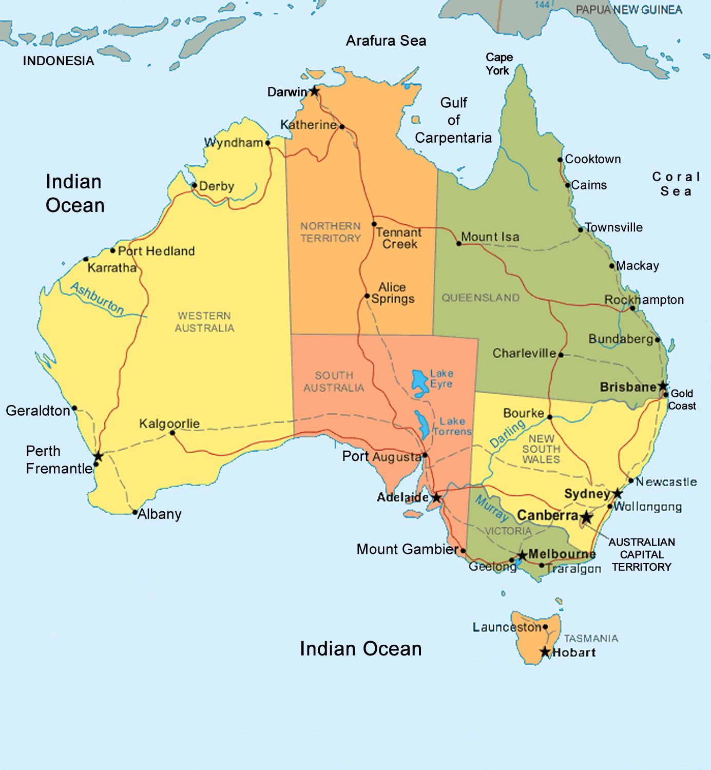 Northern Territory Natural Resources