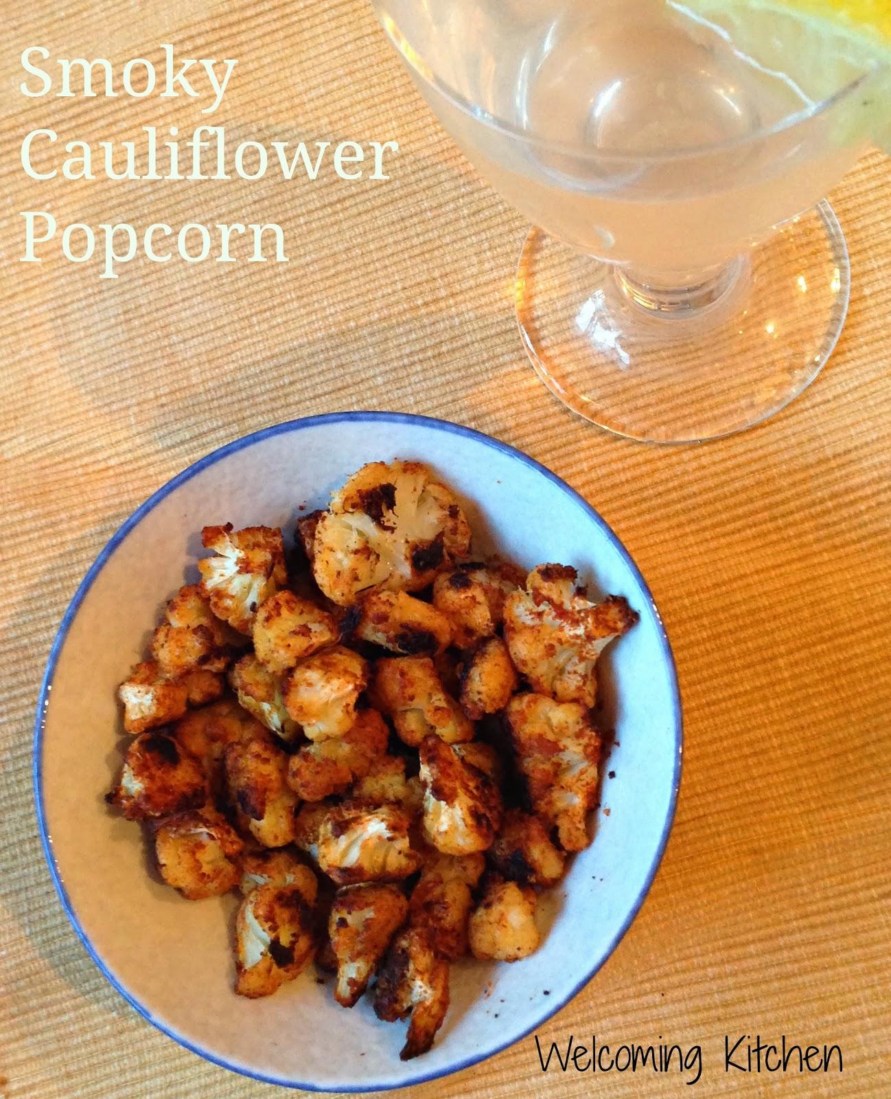 vegan glutenfree allergen-free cauliflowe popcorn