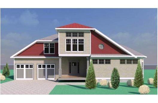 Proyecto de casa habitaci n en dos niveles con dos for Casas ideas y proyectos