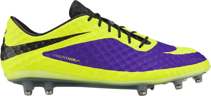 Nike Hypervenom Lila / Gelb