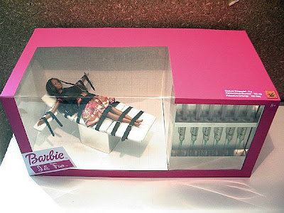 """Lethal Injection (Barbie Jail Fun Series)"" by Isabelle Heitzmann, Paris, France, Feb. 2007"