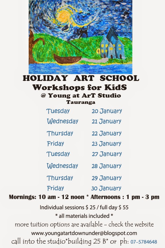 http://youngatartdownunder.blogspot.co.nz/p/kids-holidays_25.html