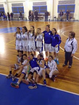 Χάλκινο μετάλλιο της Τερψιθέας Γλυφάδας με break στο break στον μικρό τελικό( !)55-38 στην Αργυρούπολη