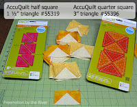 AccuQuilt dies for flying geese