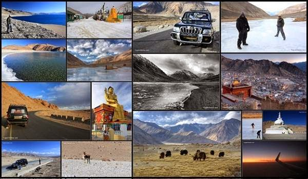Different Places in Ladakh