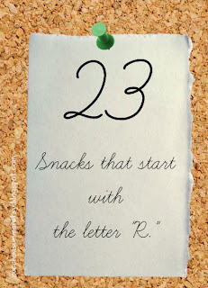 r snacks, bulletin board picmonkey, snacks that start with r, preschool letter of the week snacks, homeschool letter of the week, snacks to take to my child's preschool