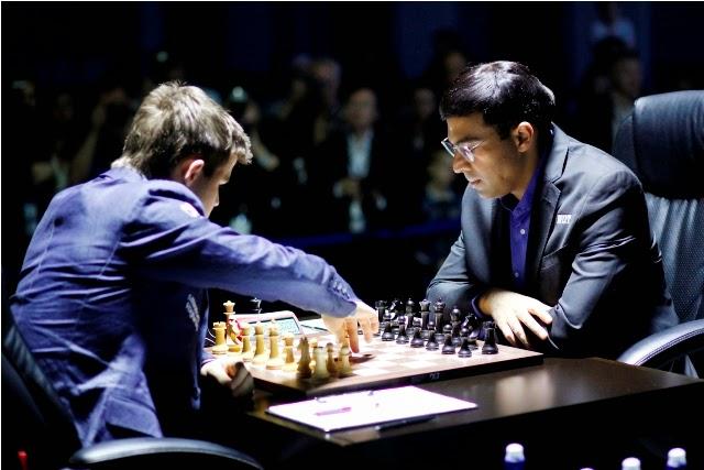 Carlsen vs Anand - Sochi 2014 - Partida 2