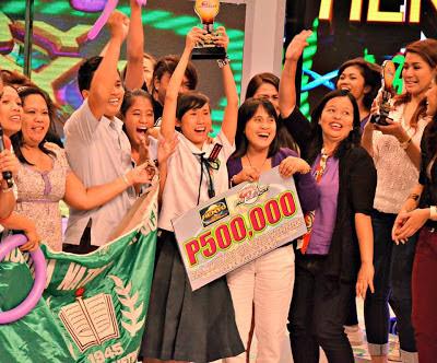 MNHS Pinoy Henyo High Grand Winner