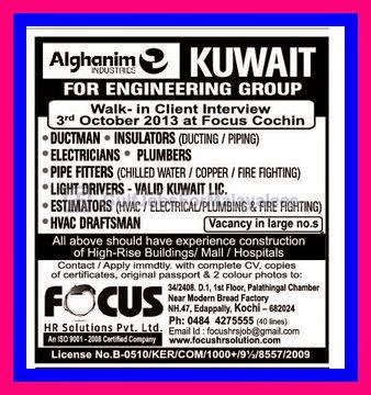 Alghanim Industries Kuwait Job Opportunities Indian E