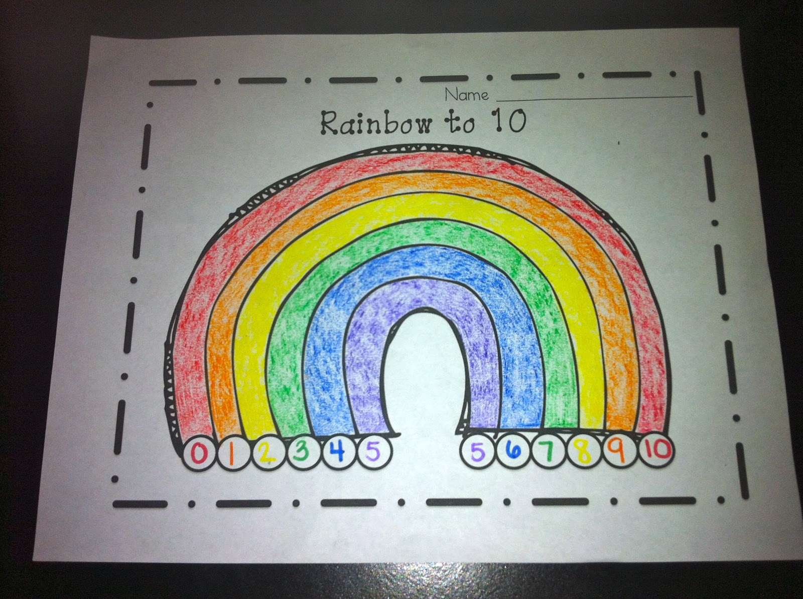 ways to make 5 and 10 rainbows of fun littlest scholars