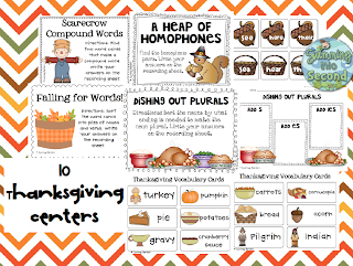 http://www.teacherspayteachers.com/Product/Full-of-Thanks-centers-and-activity-pack-400177