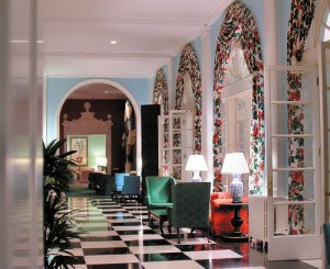 Hollywood Regency Designdorothy Draper Style At The Greenbrier