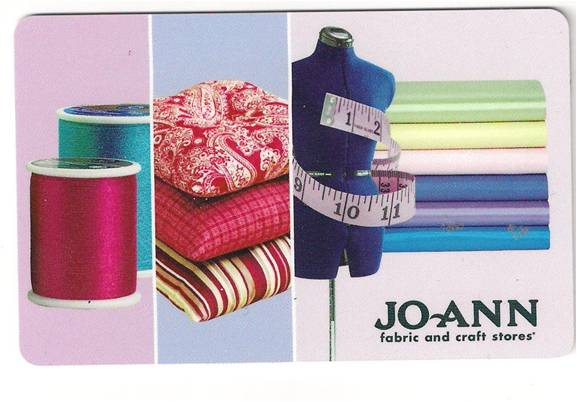 Jo Ann Fabrics And Crafts Gift Card