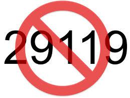 STOP 29119