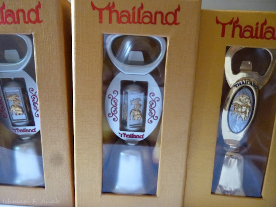 Thailand souvenir - bell and bottle opener