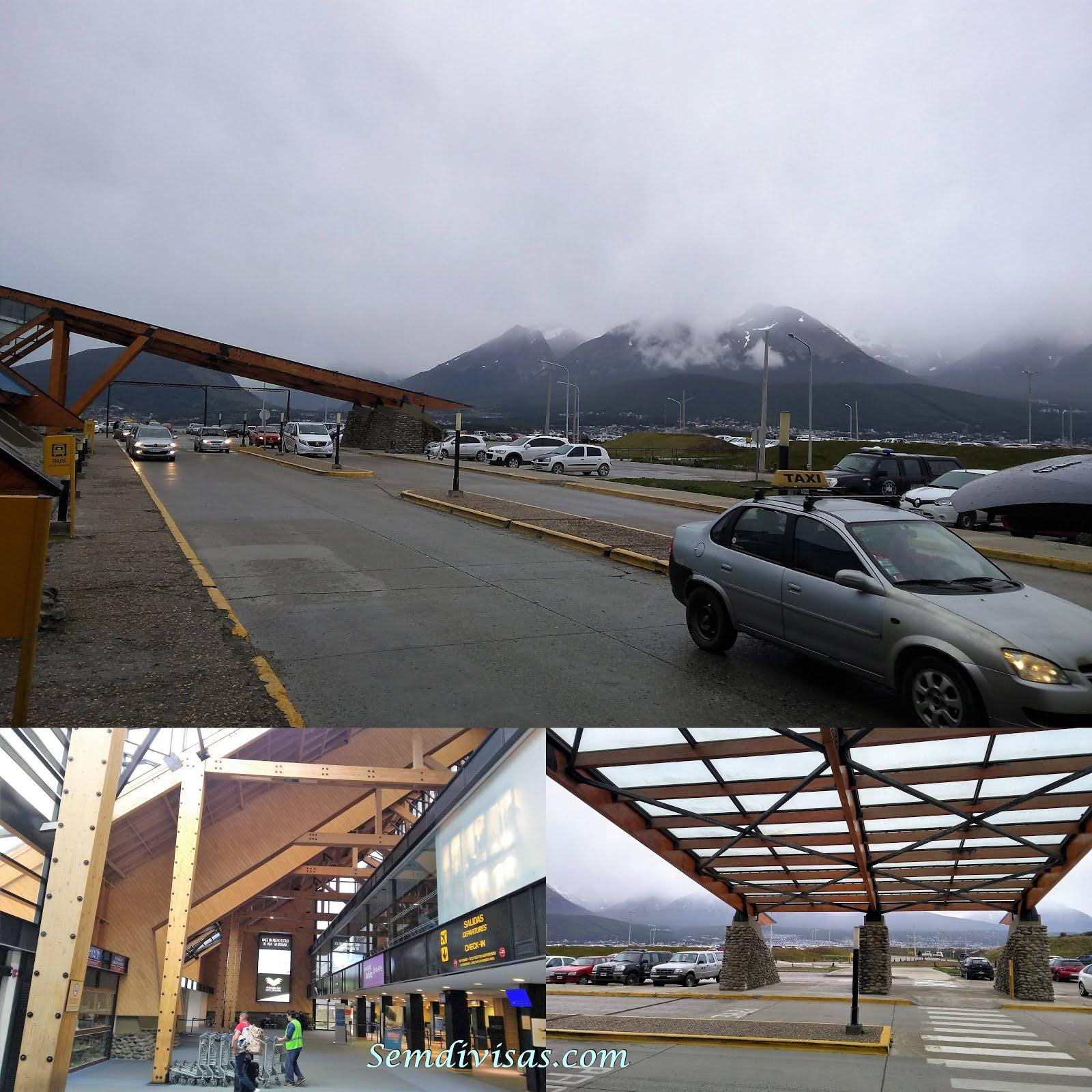 Aeroporto Ushuaia : Ushuaia patagônia argentina º dia sem divisas