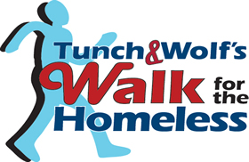 Tunch and Wolf Walk for the Homeless Pittsburgh Steelers