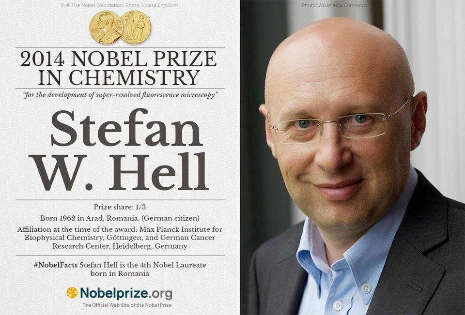 Nobel-díj, Stefan W. Hell, kémiai Nobel-díj, nanoszkópia, tudomány, orvostudomány, Eric Betzig, William E. Moerner
