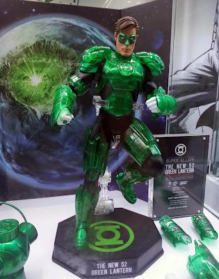 Play Imaginative Super Alloy DC Comics New 52 1/6 Scale Green Lantern Figure