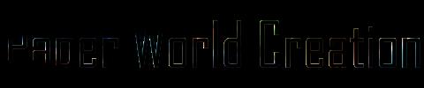 Paper World Creation