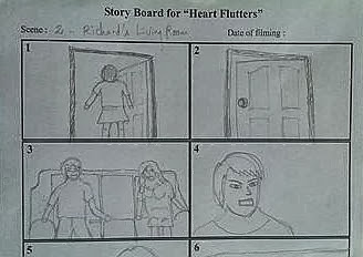My first storyboarding