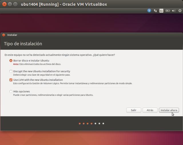 DriveMeca instalando Ubuntu 14.04 Trusty Tahr paso a paso