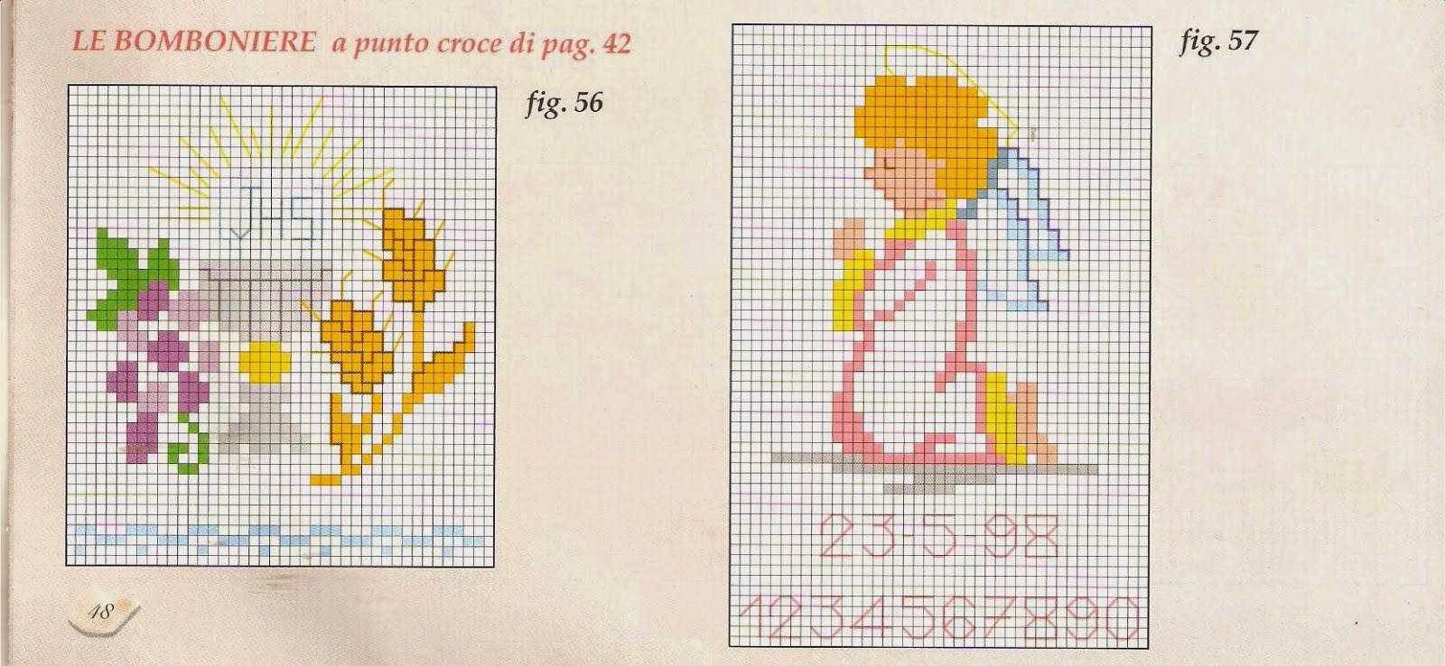 Extrêmement Hobby lavori femminili - ricamo - uncinetto - maglia: Schemi  XI93