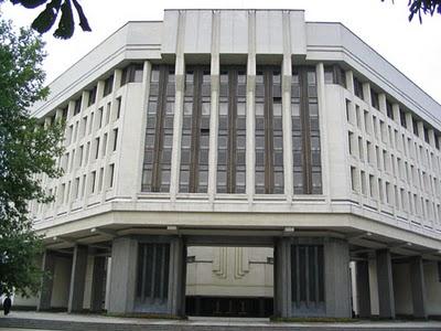 Симферополь здание Верховной Рады АРК
