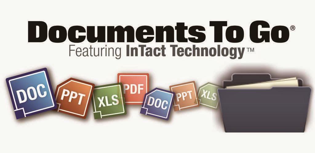كيفية عرض وتحرير ملفات وورد واكسيل وبوربوينت وPDF علي أندرويد Docs To Go™ Free Office Suite