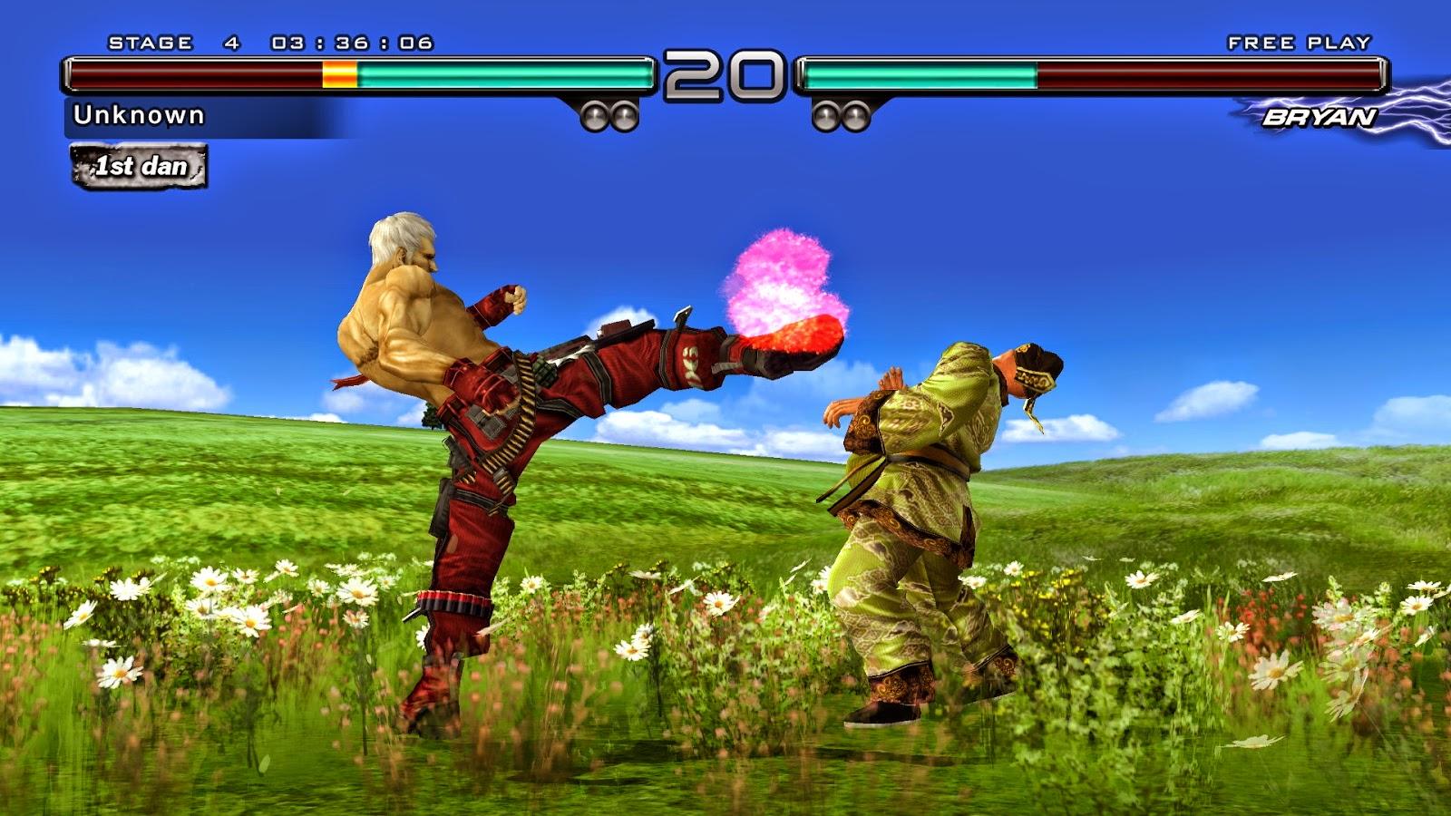 Free Download Tekken 5 Game PC