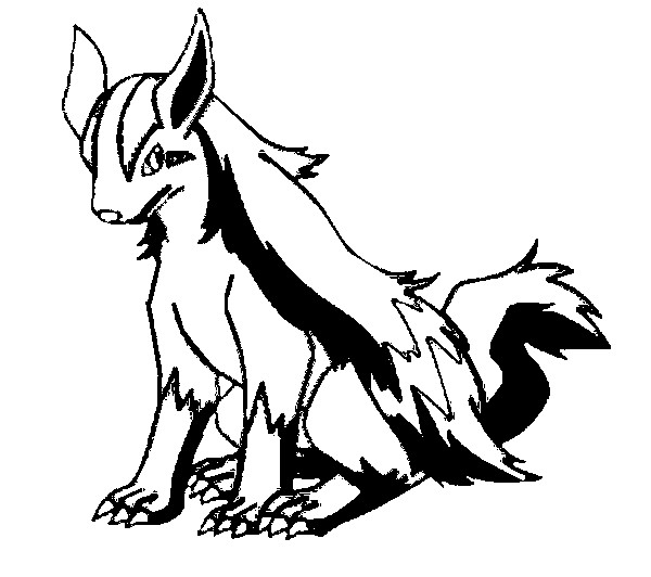 mightyena coloring pages - photo#14