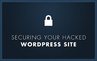 recover hacked Wordpress blog