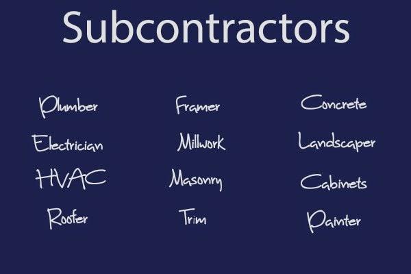Jenson Crew J Crew Subcontractors