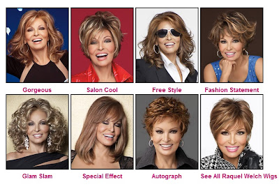Six New Raquel Welch Wigs