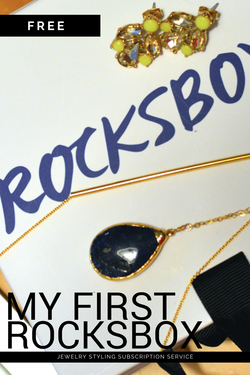 a rocksbox reveal plus a review!